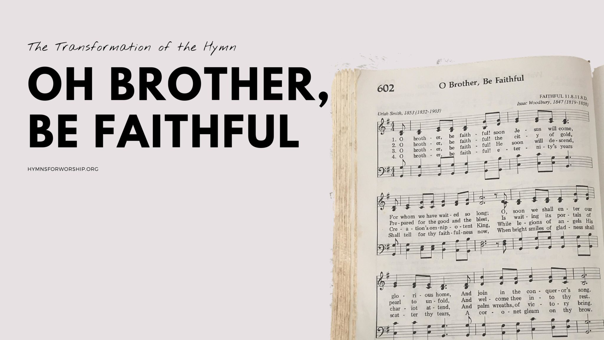 EARLY ADVENT Archives | Hymns for Worship